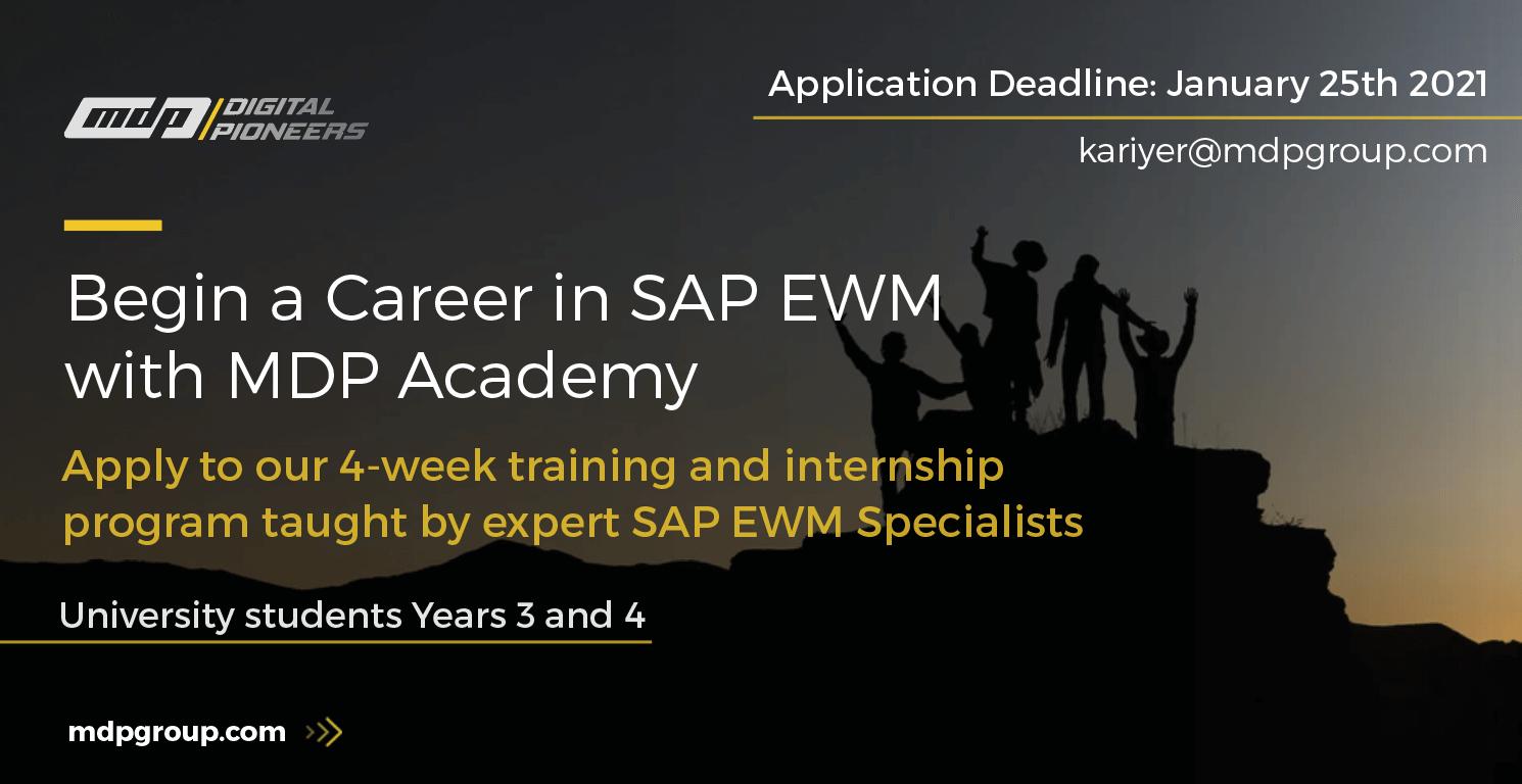 SAP EWM Internship